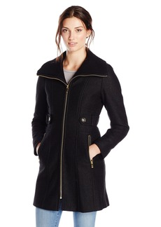 Via Spiga Via Spiga Women's Tweed Wool Coat | Outerwear - Shop It ...