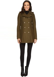 Via Spiga Wool Military Coat