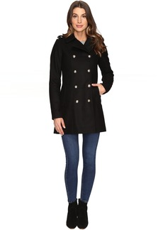 Via Spiga Wool Military Coat