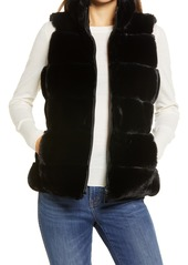 Women's Via Spiga Faux Fur Reversible Vest