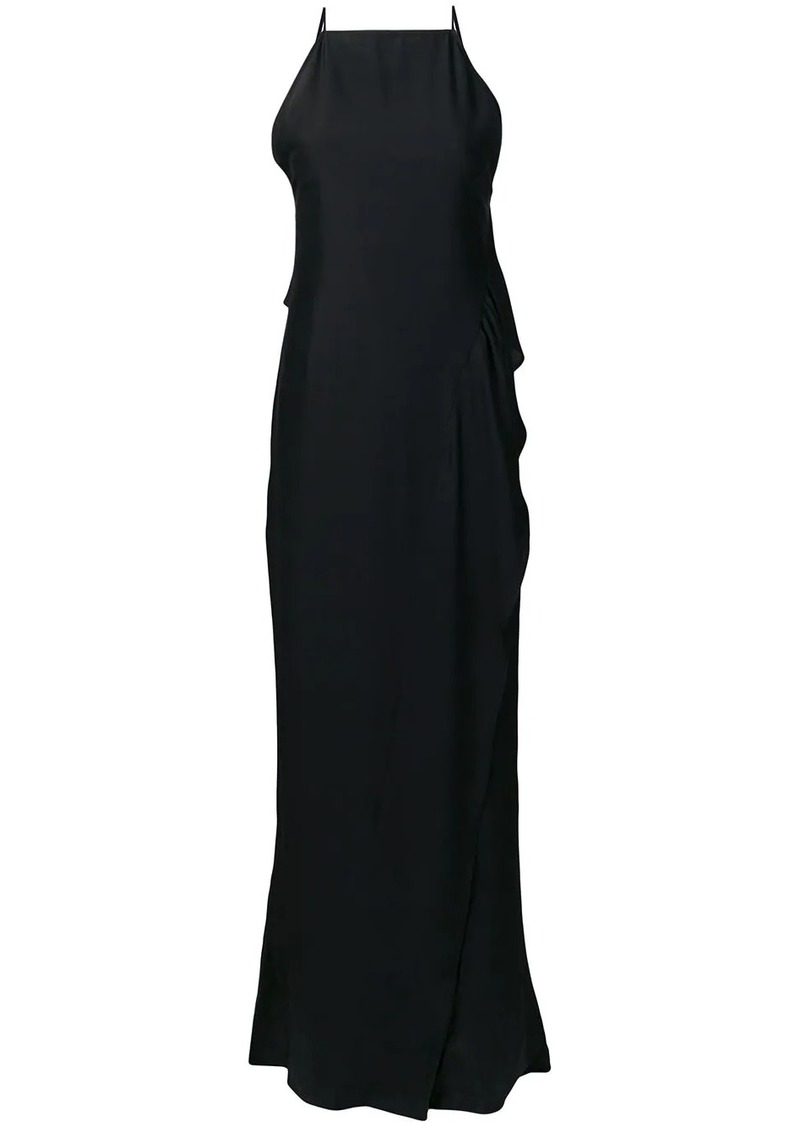 Victoria Beckham asymmetric floor length dress