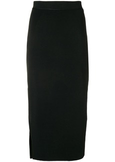 Victoria Beckham asymmetric pencil skirt
