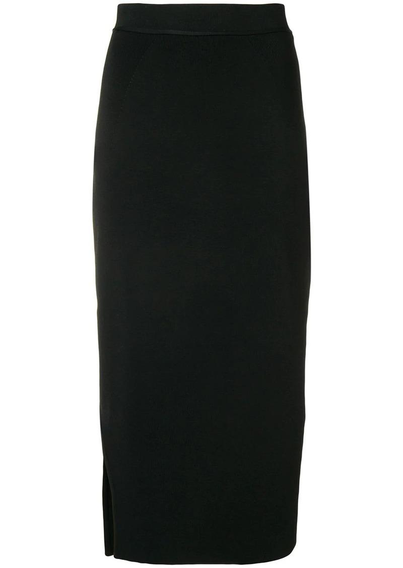 Victoria Beckham asymmetric pencil skirt