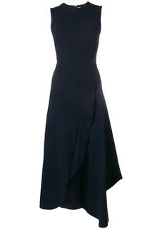 Victoria Beckham asymmetric ruffled dress