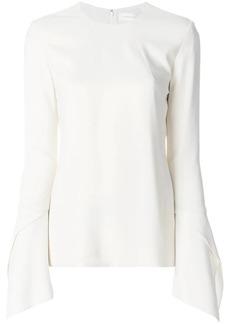 Victoria Beckham bell-sleeved blouse