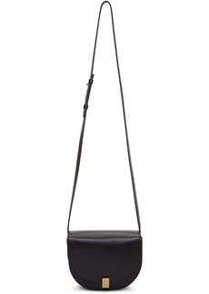 Victoria Beckham Black Mini Half Moon Bag