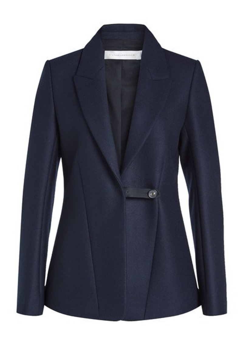 Blazer in Wool and Mohair