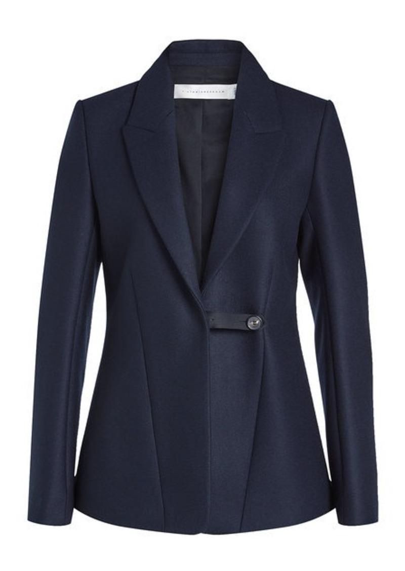 Victoria Beckham Blazer in Wool and Mohair