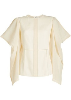 Victoria Beckham Blouse with Draped Sleeves