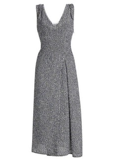 Victoria Beckham Bouclé Dress with Linen
