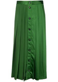 Victoria Beckham buttoned skirt