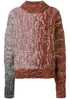 Victoria Beckham chunky mix sweater