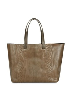 Victoria Beckham Python & Leather Tote
