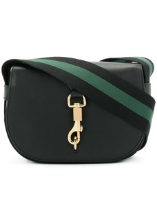 Victoria Beckham contrast strap satchel
