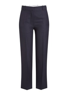 Victoria Beckham Cropped Pants with Wool