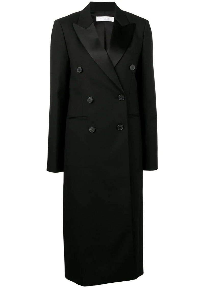Victoria Beckham double breasted midi coat