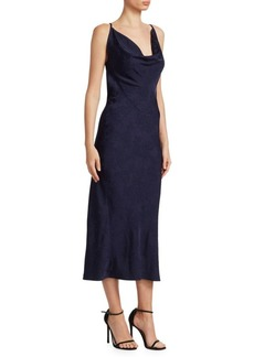 Victoria Beckham Drape Front Cami Dress