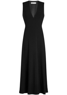 Victoria Beckham Draped Back Midi Dress