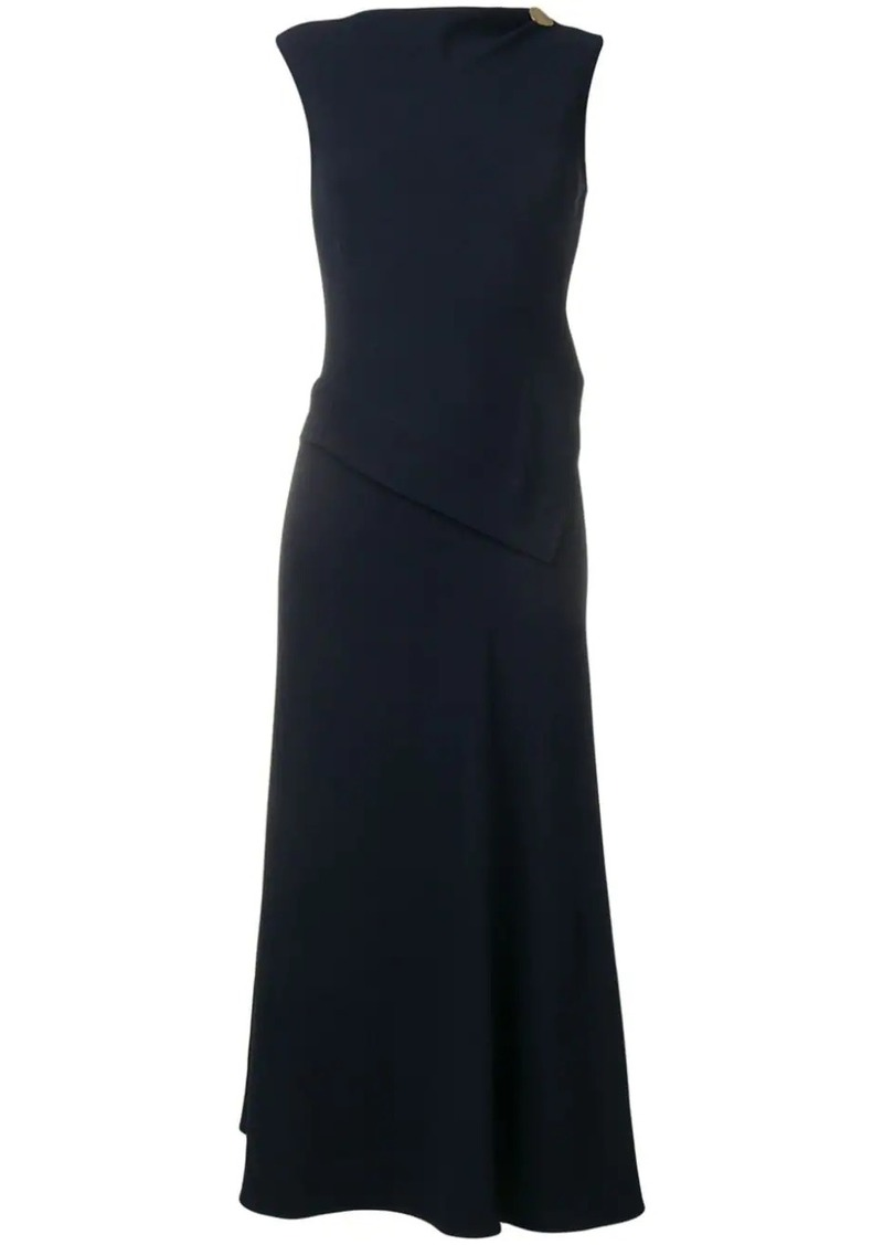 Victoria Beckham draped dress
