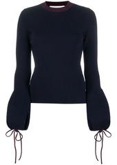 Victoria Beckham drawstring sleeves jumper