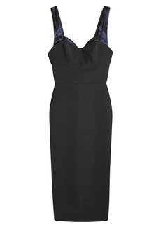 Victoria Beckham Dress with Satin Trims