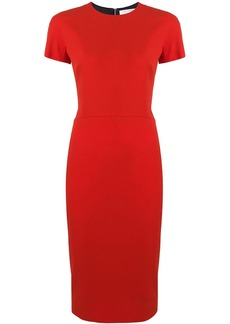 Victoria Beckham fitted T-shirt dress