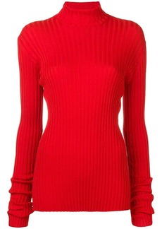 Victoria Beckham fitted turtle neck top