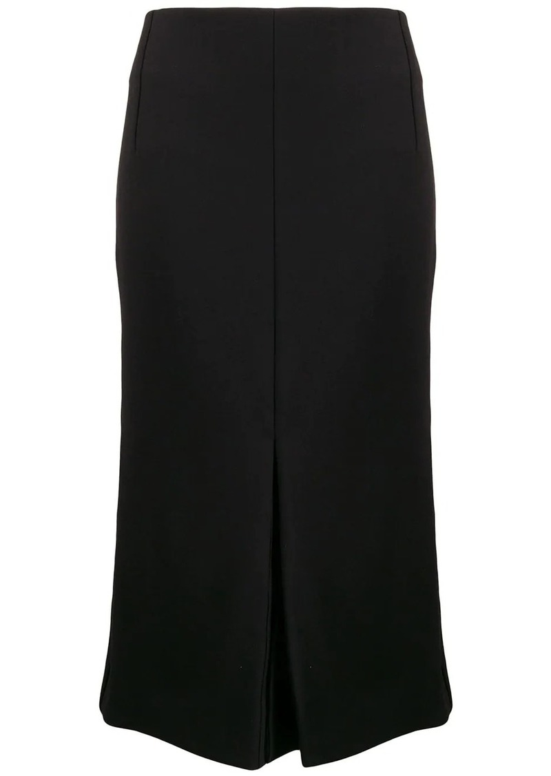 Victoria Beckham flared high-rise midi skirt