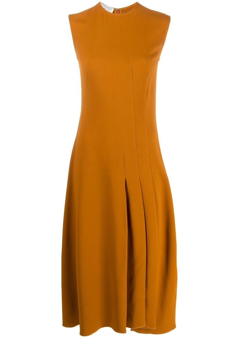 Victoria Beckham flared midi dress