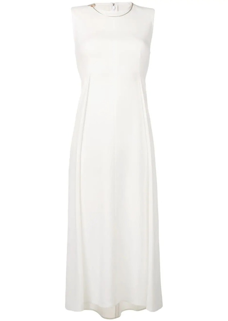 Victoria Beckham front pleat dress