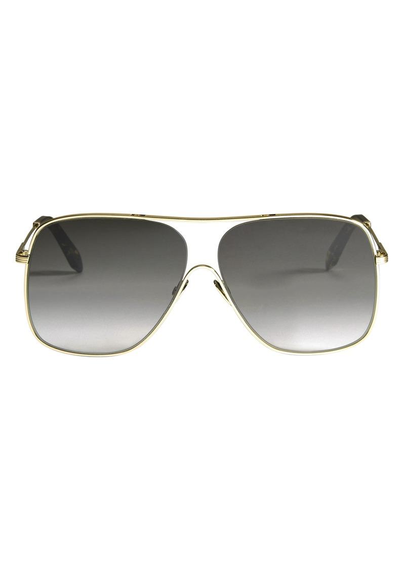 5677f0e658e05 On Sale today! Victoria Beckham Gold Loop Navigator Sunglasses