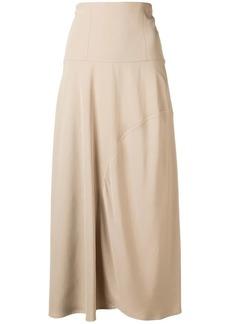 Victoria Beckham high waist curve skirt