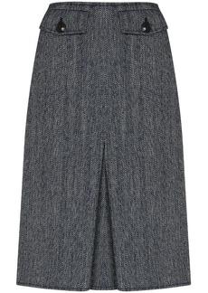 Victoria Beckham high-waisted pleated skirt