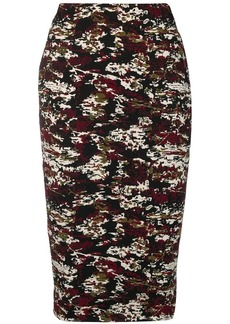 Victoria Beckham jacquard pencil skirt