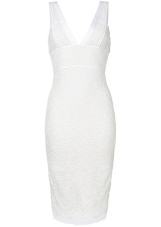 Victoria Beckham lace fitted dress
