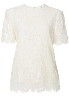 Victoria Beckham lace shortsleeved blouse