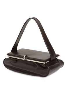 Victoria Beckham Large Powder Box Leather Top Handle Bag