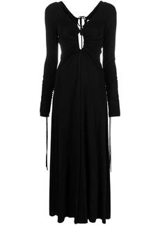 Victoria Beckham long cut-out dress