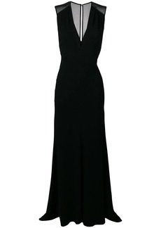 Victoria Beckham long evening dress