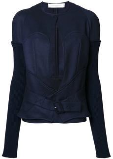 Victoria Beckham longsleeve bustier jacket