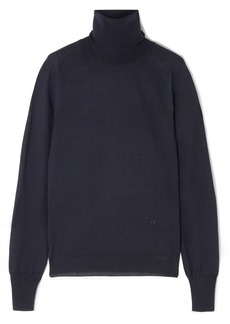 Victoria Beckham Merino Wool Turtleneck Sweater