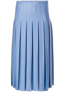Victoria Beckham mid length pleated skirt