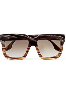 Victoria Beckham Oversized Square-frame Acetate Sunglasses