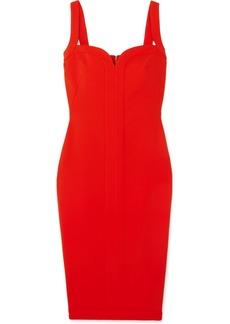 Victoria Beckham Paneled Cady Dress