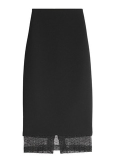 Victoria Beckham Pencil Skirt with Lace