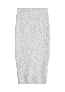 Victoria Beckham Pencil Skirt with Virgin Wool and Alpaca
