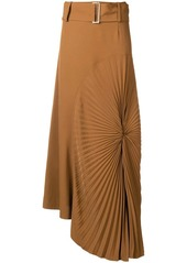 Victoria beckham pleated circle skirt abvfa9945f3 a