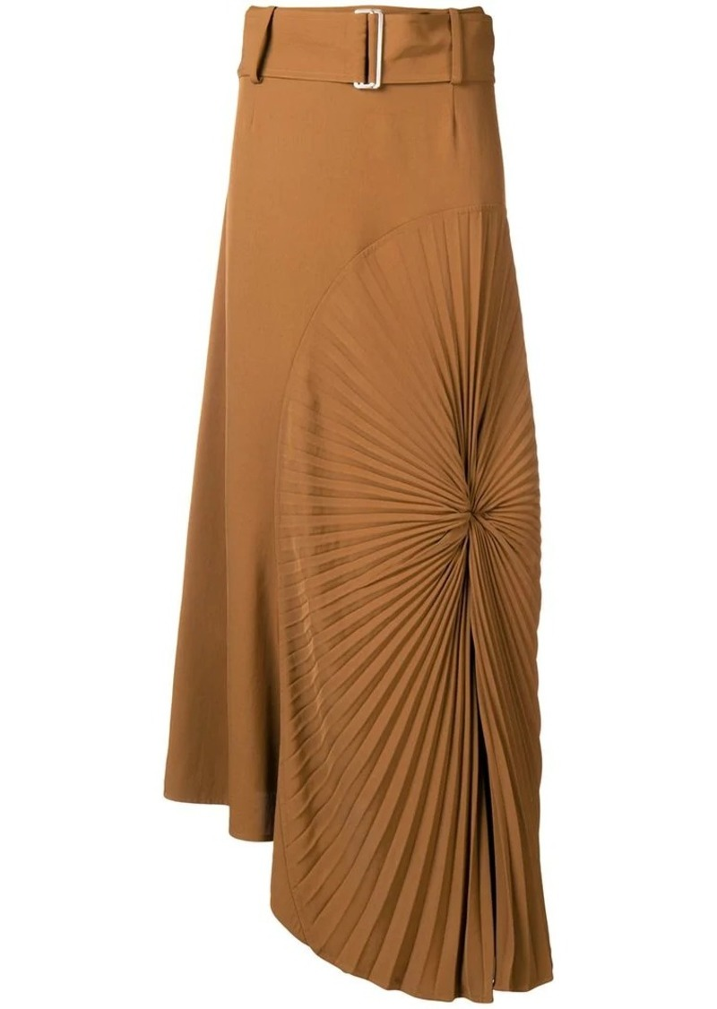 Victoria Beckham pleated circle skirt