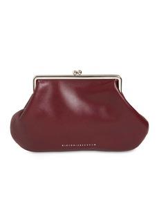 Victoria Beckham Pocket Leather Clutch