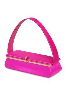 Victoria Beckham Powder Box Silk Satin Top Handle Bag